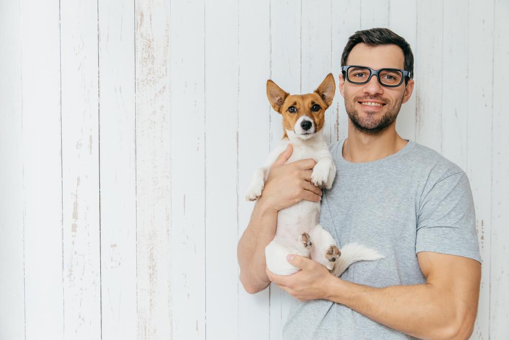 papa e cagnolino
